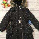 Зимнее пальто lenne р.116 см.