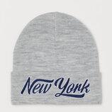 шапка двойная демисезонная H&M