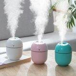Компактный настольный увлажнитель воздуха, аромотерапия, белый, новый