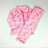 Фланелевая пижама для девочки 86-98 см Primark