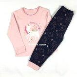 Трикотажная пижама для девочки 86,92,98 см Primark