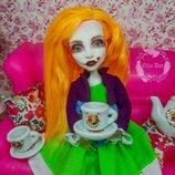 Безумная шляпница кукла Спектра Монстер Хай Ооак