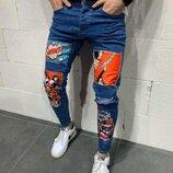 Мужская джинсы 0363-AO
