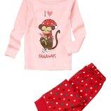 Пижамы для девочек 4-6 лет Crazy8 Сша, хлопок,замеры