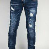 Итальянские зауженные джинсы