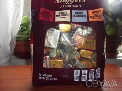 Hercheys Nuggets Ассорти из разнообразия шоколада, подарок из Америки