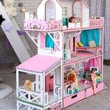 Кукольный домик для Барби NestWood Люкс Плюс.114 см , без мебели