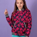 Модный качественный бомбер куртка американка. с 128 по 146 размер