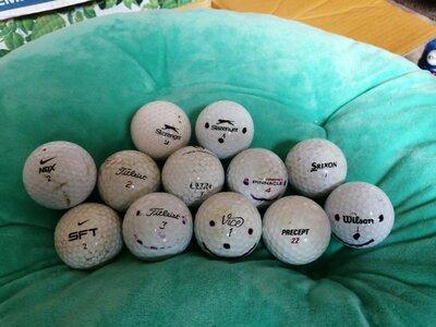 Шарик для гольфа