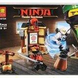 Конструктор Bela 10724 Уроки мастерства Аналог Lego Ninjago 70606