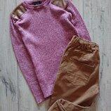 Стильные джинсы горчичный George 11-12 лет 146 см