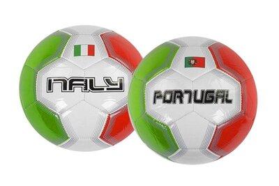 Мяч футбольный красно-зелёный C40217 Италия Португалия