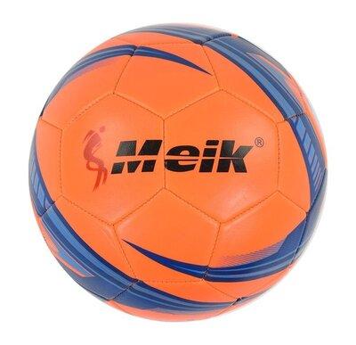 Мяч футбольный оранжевый C40045 meik