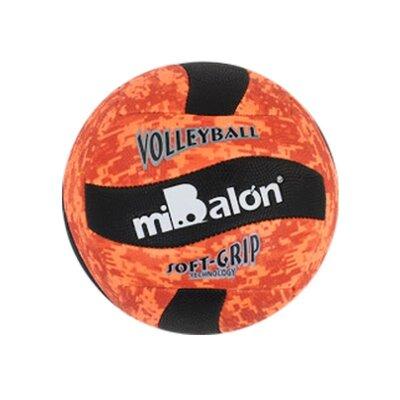 Мяч волейбольный miBalon оранжевый Star Toys С40077