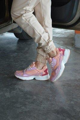 Женские кроссовки Adidas Falcon Pink | Скидка