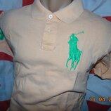 Стильная тениска поло футболка Polo Ralph Lauren. s-m