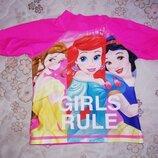 Кофта для купания принцессы upf 50 на 2-3года girls rule