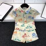 Детский летний костюм Gucci 110-160