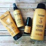 Кератин для волос - шампунь, маска, спрей, сыворотка, Farmasi