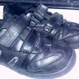 Кожаные туфли Clarks по стекльке 20см.
