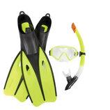 Bestway Набор для плавания 25021 зеленый