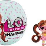 Кукла Лол в шаре с париками LOL Surprise Hairvibes