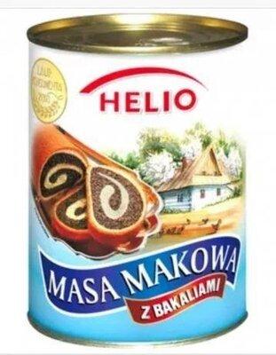 Макова маса Helio 850 g, Польша