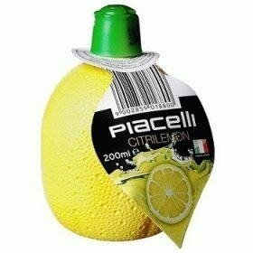Piacelli Citrilemon концентрированный лимонный сок, 200 мл