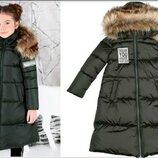 Зимнее детское пальто тм Моне 6 лет 116 см.