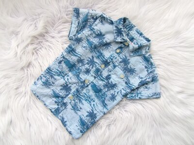 Стильная и качественная Рубашка с коротким рукавом Zara