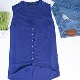Легкая удлиненная рубашка New look