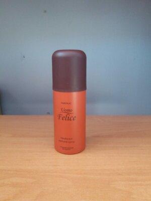 -50% мужской парфюмированный дезодорант фаберлик Uomo Felice faberlic умо величе фаберлік
