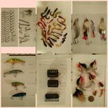 Рыболовные снасти, наживки, мушки, крючки, кормушки, блесны