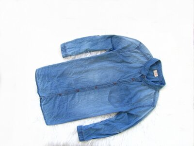 Качественная и стильная джинсовая рубашка Zara Boys