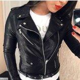 Куртка-Косуха в стиле zara Фабричный китай Ткань - качественная эко-кожа Цвета черный, розовый