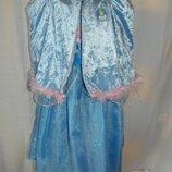 платье Золушки на 5-6 лет и накидка