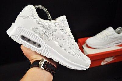Кроссовки мужские Nike Air Max 90, белые, SE20768