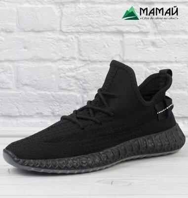 Кросівки чоловічі сітка Adidas Yeezy Boost 350 Кроссовки мужские 823