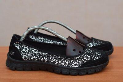 Черные женские босоножки, балетки, кроссовки Skechers EZ Flex 3. 39 - 40 размер. Оригинал