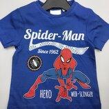 Синяя футболка Человек паук Дисней