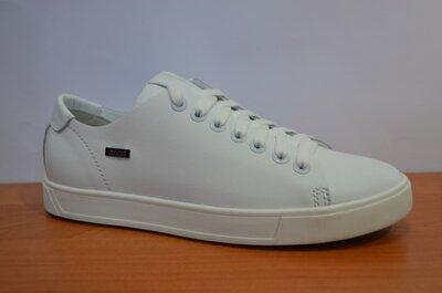 Кожаные белые кеды Ed-Ge.