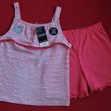 Комплект майка и шорты George для девочки 4-5 лет