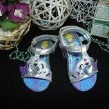 Гламурные босоножки Disney 21 5 р,ст 13,5см.мега выбор обуви и одежды