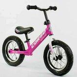 Велобег беговел детский Corso надувные колеса