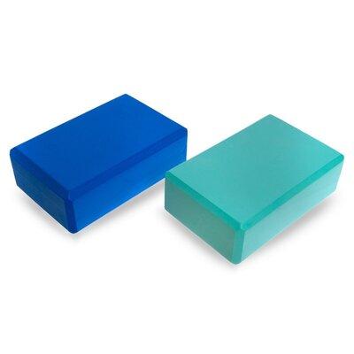 Йога блок 1536 блок для йоги размер 23x15x8см 2 цвета