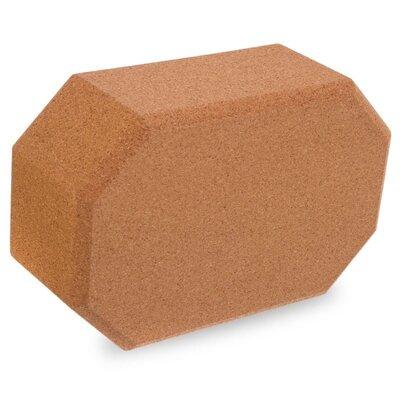 Йога блок пробковый 1567 блок для йоги пробковый размер 23x15x8см, вес 700г