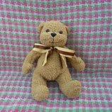 Игрушка мягкая веселый мишка медведь от Heunec, рост 28см