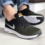 Кроссовки мужские Nike Zoom, темно зеленые