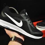 Кроссовки мужские Nike Zoom Pegasus, черные с белым