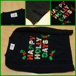 George Новогодняя кофта свитерок 5-6 лет новорічний светр кофта новий рік новый год джемпер